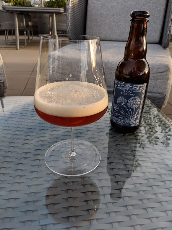 SingleThread Farms rooftop beer