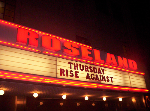 Marquee at Roseland