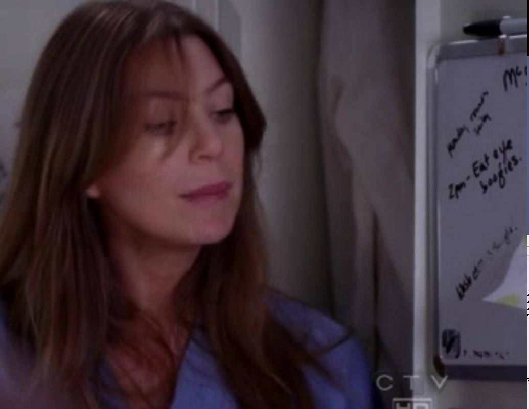 Grey's Anatomy Whiteboard