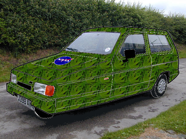 reliant robin in camo